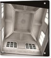 Interior Of A Japanese Colonial Building Acrylic Print