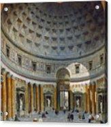 Interior Of The Pantheon Acrylic Print