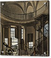 Interior Of The Radcliffe Observatory Acrylic Print
