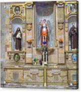 Interior View Of Church In Guanajuato Mexico Acrylic Print