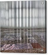 Interior Wall World Financial Center Acrylic Print