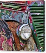 International Car Details Acrylic Print