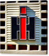 International Harvester Logo Acrylic Print