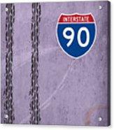 Interstate 90 Acrylic Print