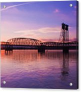 Interstate Bridge Acrylic Print