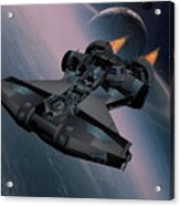 Interstellar Spacecraft Acrylic Print