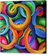 Intertwined Bonds Acrylic Print