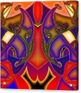 Intertwined Lifestreets Acrylic Print