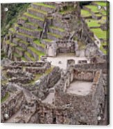 Intihuatana Pyramid Acrylic Print