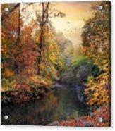 Intimate Autumn Acrylic Print