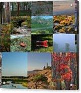Intimate New England Landscape Photography Acrylic Print
