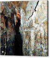Into Crystal Cave Acrylic Print