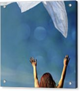 Into The Atmosphere Acrylic Print