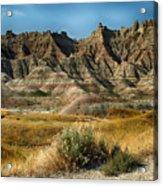 Into The Badlands South Dakota Acrylic Print