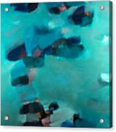 Into The Blue Acrylic Print