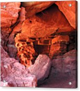 Into The Cave Acrylic Print