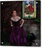 Into The Darkness Acrylic Print by Crispin  Delgado