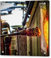 Into The Fire Acrylic Print