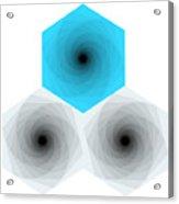 Into The Hexagons. Acrylic Print
