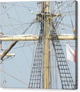 Into The Rigging Acrylic Print