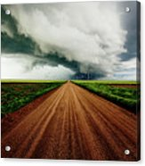 Into The Storm Acrylic Print