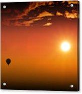 Into The Sunset Acrylic Print