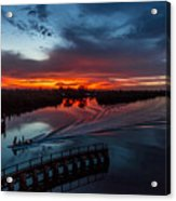 Intracoastal Sunset Acrylic Print