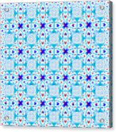 Intricate Geometric Pattern Acrylic Print