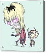 Invader Goblin King Acrylic Print