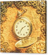 Invention Of Time Acrylic Print