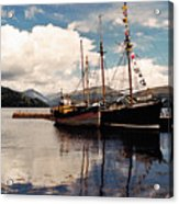Inverarray Harbor Acrylic Print