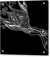 Inverted Bird Acrylic Print