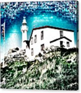 Inverted Lighthouse  Acrylic Print