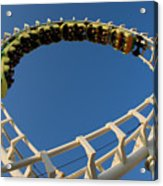 Inverted Roller Coaster Acrylic Print