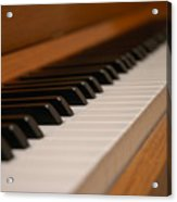 Invisible Pianist Acrylic Print