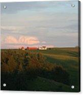 Iowa Farms Acrylic Print