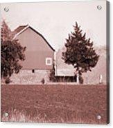 Iowa Landscape Acrylic Print