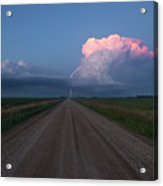 Iowa Supercell Acrylic Print