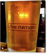 Ipa Beer In Live Nation Cup At Shoreline Amphitheatre During Dead And Company Acrylic Print