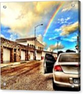 #iphone # Rainbow Acrylic Print