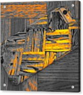 iPhone 6s as Art bwy Acrylic Print