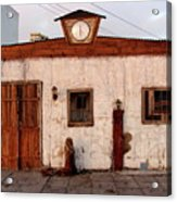 Iquique Chile Cantina Acrylic Print