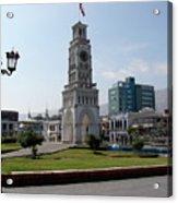 Iquique Chile Plaza Acrylic Print