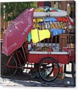 Iquique Chile Street Cart Acrylic Print