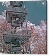 Ir Firetower Acrylic Print