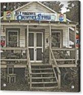 Ira V Ferguson's Country Store Acrylic Print