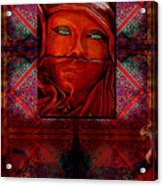 Iran Daze Acrylic Print