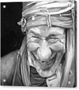 Iranian Man Acrylic Print by Enzie Shahmiri