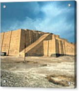 Iraq: Ziggurat In Ur Acrylic Print by Granger
