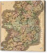 Ireland 1831 Acrylic Print